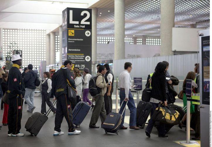 En América Latína, el AICM se ubica en segundo puesto tras el de Sao Paulo. (Foto: Agencia Reforma)