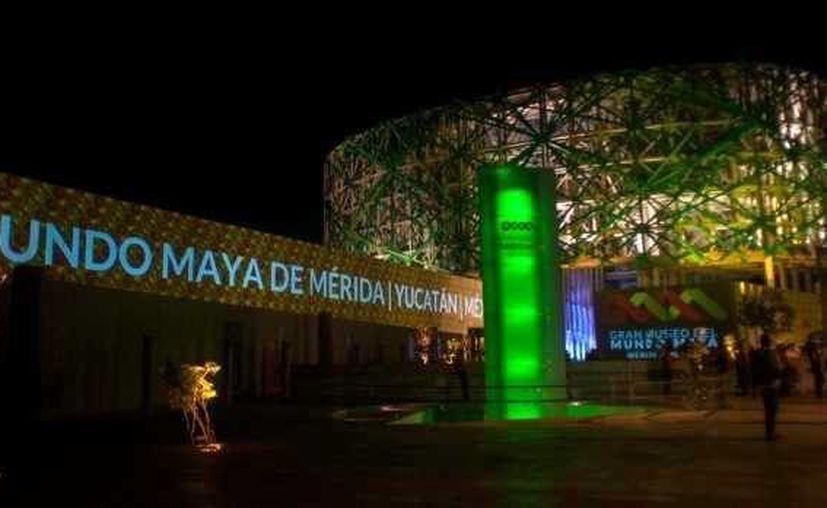 Actualmente a nivel nacional estamos promocionando el espectáculo del Gran Museo del Mundo Maya como la nueva atracción del Estado. (Milenio Novedades)
