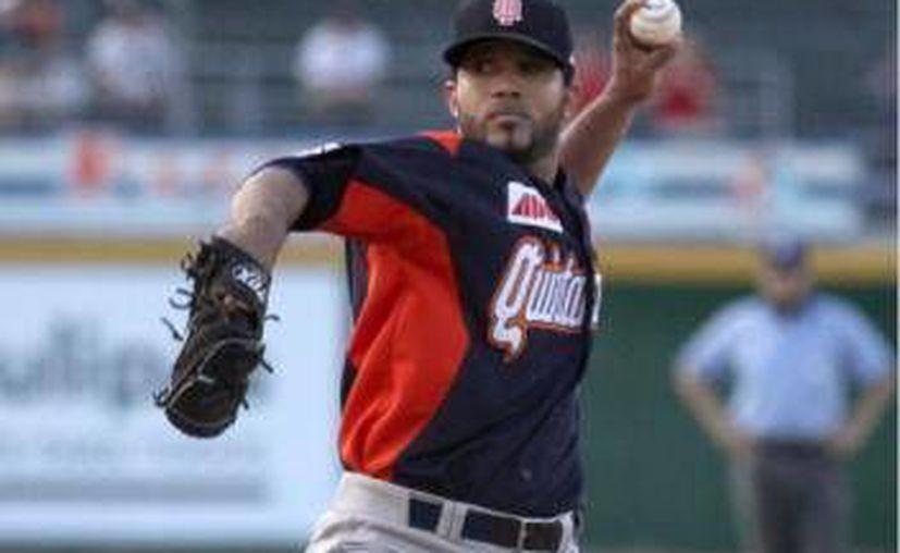 El lanzador dominicano Fabio Castro obtuvo su segundo triunfo de la temporada. (Archivo/SIPSE)
