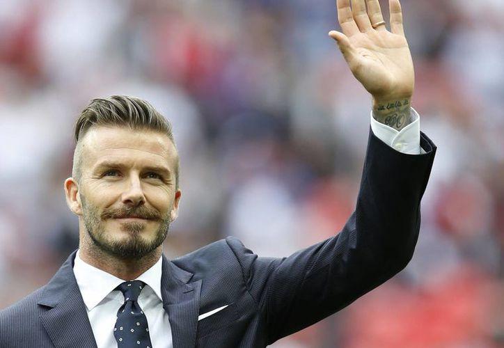 El jugador inglés, de 34 años, también se hizo famoso como modelo de marcas de prestigio. (Agencias)