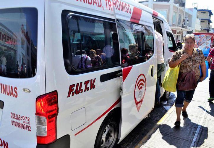 El servicio de aire acondicionado e internet no estará disponible en camionetas de transporte foráneo, ya que se tendría que incrementar tarifa. (Milenio Novedades)