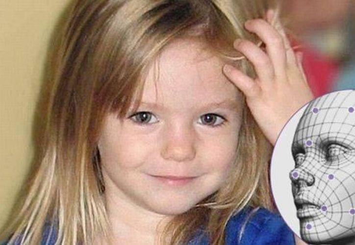 Madeleine McCann lleva desaparecida 10 años y su padres tienen la esperanza de encontrarla a través del reconocimiento facial de Facebook.(Foto: AP/Composición)