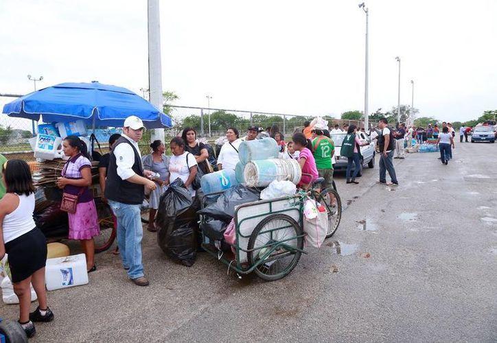 En lo que va del 2014 la Sedesol ha captado 517.5 tons de material reciclable, logrando beneficiar a 19 mil 18 personas de 29 colonias y dos comisarías de Mérida, además de 9 municipios yucatecos. (Cortesía)