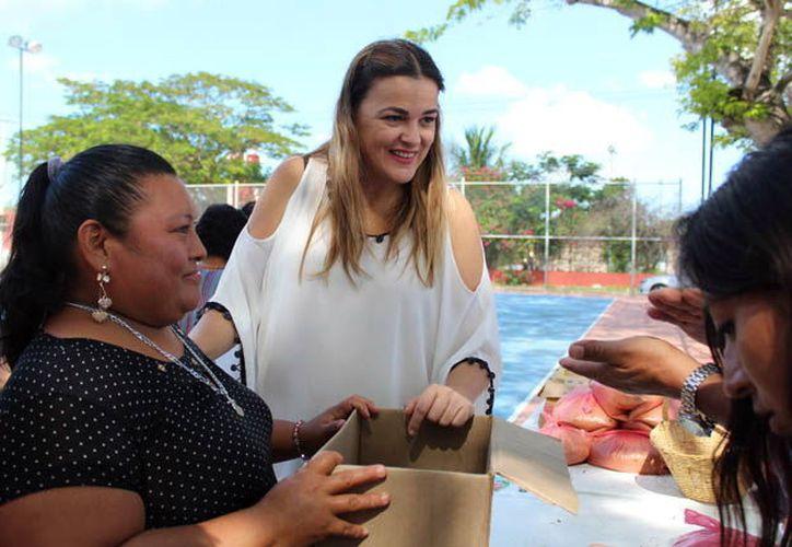Cecilia Patrón Laviada.  (Foto: Milenio Novedades)