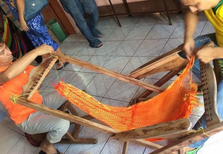 El municipio de Tixkokob es conocido por la calidad y precio de las hamacas que ahí se fabrican. (Notimex)