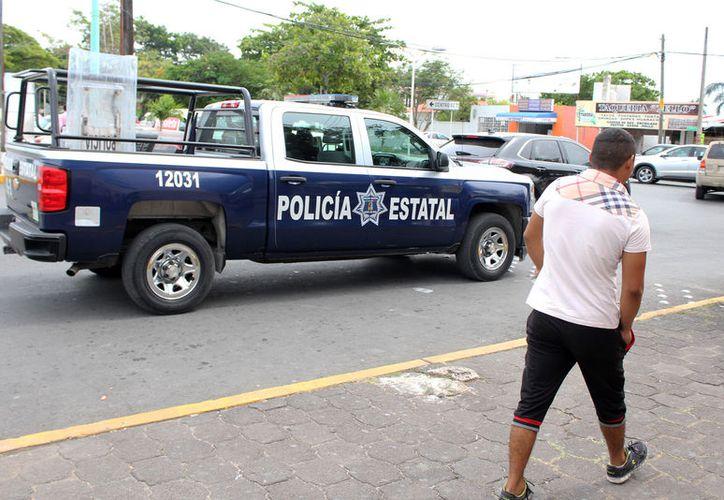 La personas entrevistadas aseguran que no ven la presencia policial. (Foto: Joel Zamora)
