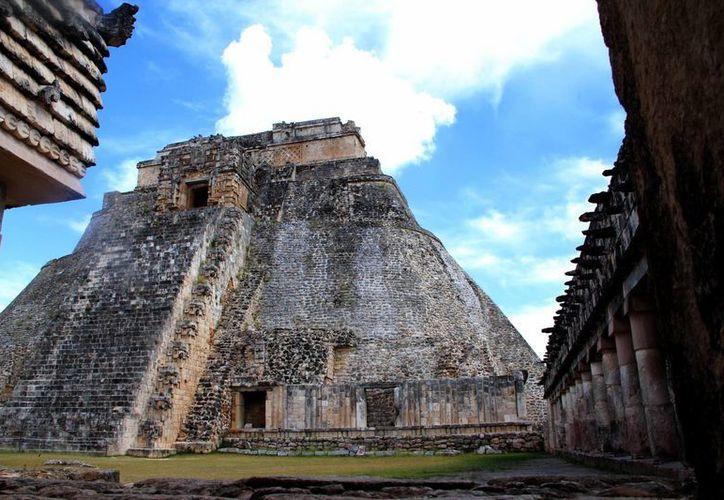 Uxmal es la zona arqueológica de la Ruta Puuc, donde el INAH Yucatán prepara un proyecto de manejo integral. (Archivo/SIPSE)