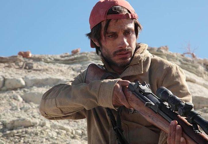 Gabriel García Bernal da vida a 'Moisés en la película 'Desierto', la cual fue dirigida por Jonás Cuarón y se presentó con gran éxito en el Festival Internacional de Cine de Toronto. (enfilme.com)