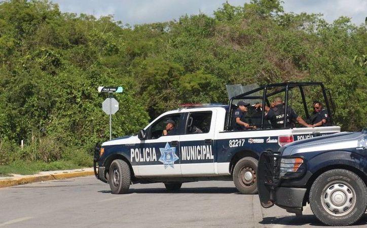 La Policía Municipal de Solidaridad está fortaleciéndose con la adquisición de patrullas y cursos de capacitación. (Adrián Barreto/SIPSE)