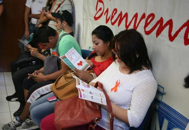 Alumnas de diferentes licenciaturas y semestres participaron en el evento. (Redacción/SIPSE)