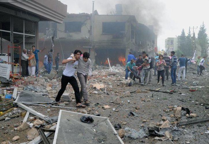 Hasta el momento ninguna organización criminal se ha atribuido la responsabilidad de los atentados. (Agencias)