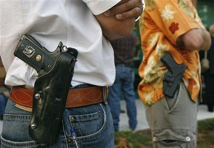 En 2011, Texas emitió 143 mil 745 permisos de portación de armas ocultas. (Archivo/AP)