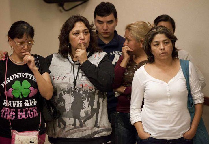 Las madres de las 12 víctimas exigen la intervención de peritos extranjeros. (Archivo/Agencias)