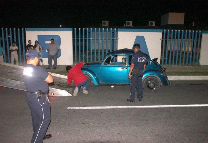 La falta de  precaución de los conductores dejó 48 accidentes. (Archivo/SIPSE)