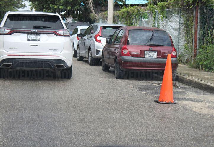 Los parquímetros se planean instalar en el tramo entre las avenida Juárez y Constituyentes. (Foto: Adrián Barreto)