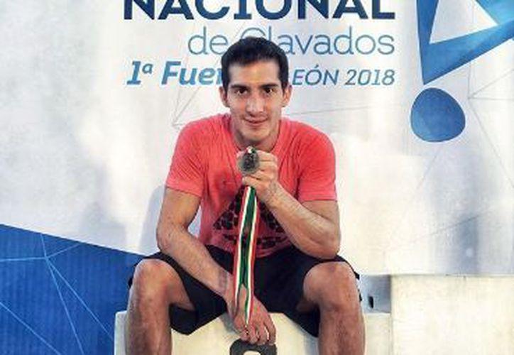 Pacheco hará dupla con Jahir Ocampo en Trampolín de 1 y 3 metros. (Instagram)