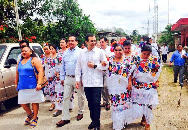 Ernesto Cordero reiteró que una de sus propuestas es recuperar los valores e ideología panista. (@ErnestoCordero)