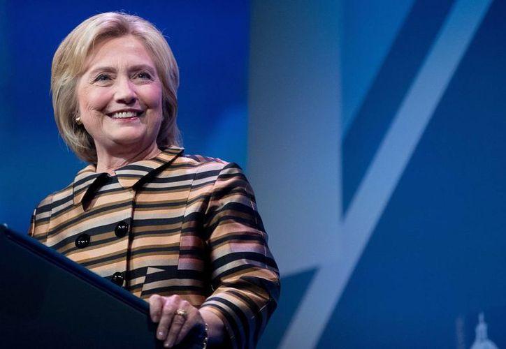 Desde Indiana, Hillary Clinton solicitó el apoyo de la comunidad latinoamericana para vencer a Donald Trump el próximo 8 de noviembre. (AP/Andrew Harnik)