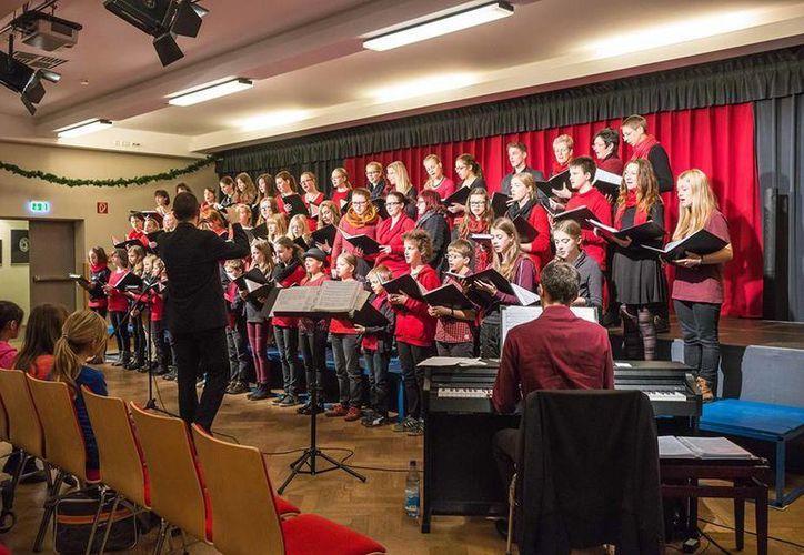 La presentación del grupo alemán es un intercambio de coros juveniles con México. (Foto: Redacción)