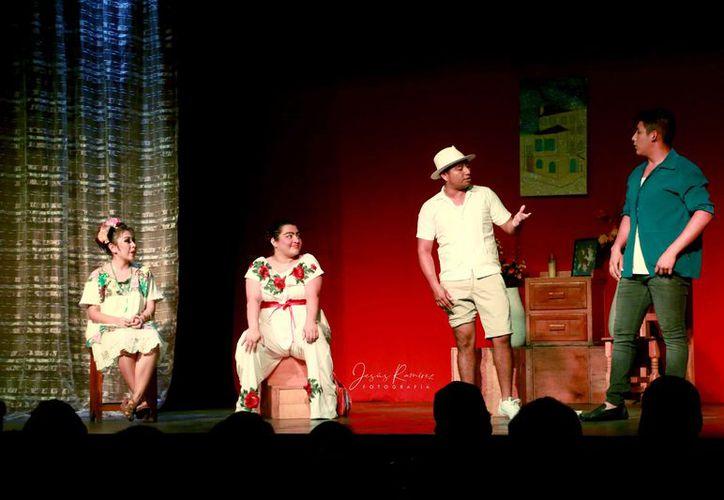 La obra se estrenó el mes pasado con mucho éxito. (Faride Cetina/SIPSE)