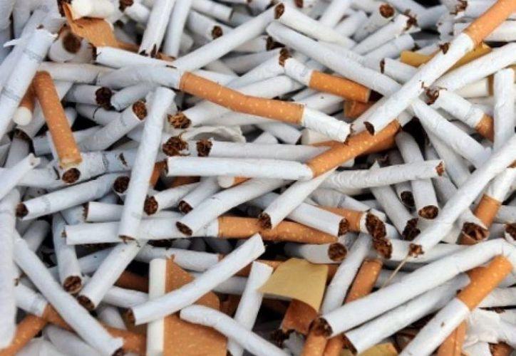 Durante la operación se decomisó dos millones 668 mil 250 cajetillas de cigarrillos de contrabando. (Internet)