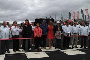 Inauguran el Autódromo de Yucatán