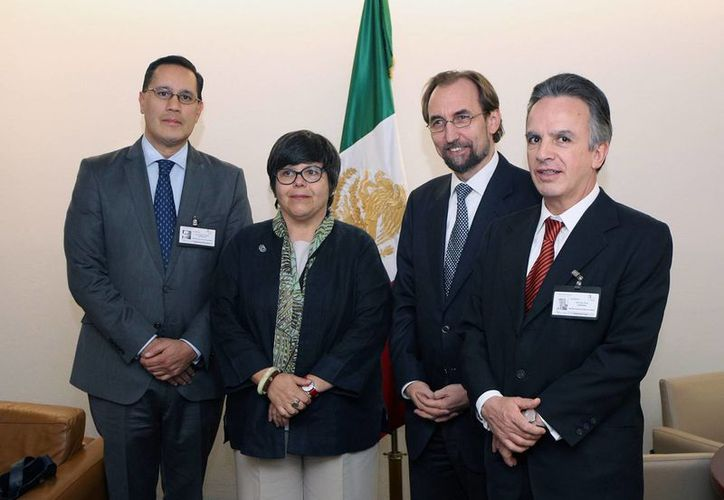 Del 4 al 7 de octubre de 2015, Zeid Ra'ad Al Hussein, Alto Comisionado de las Naciones Unidas para los Derechos Humanos, realizará su primera visita oficial a México. (Notimex)