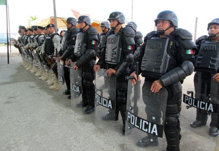 Las fuerzas policíacas de Progreso trabajarán las 24 horas en diciembre. (Milenio Novedades)