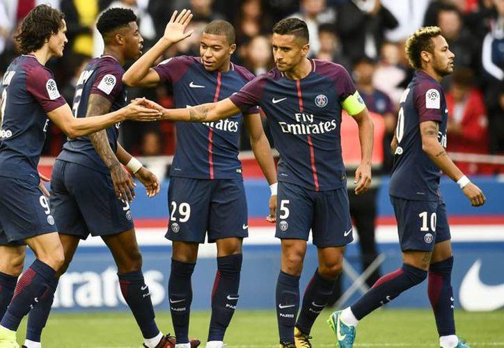 Mbappé y Cavani marcaron en la victoria sobre el Marsella. (Foto: AS)