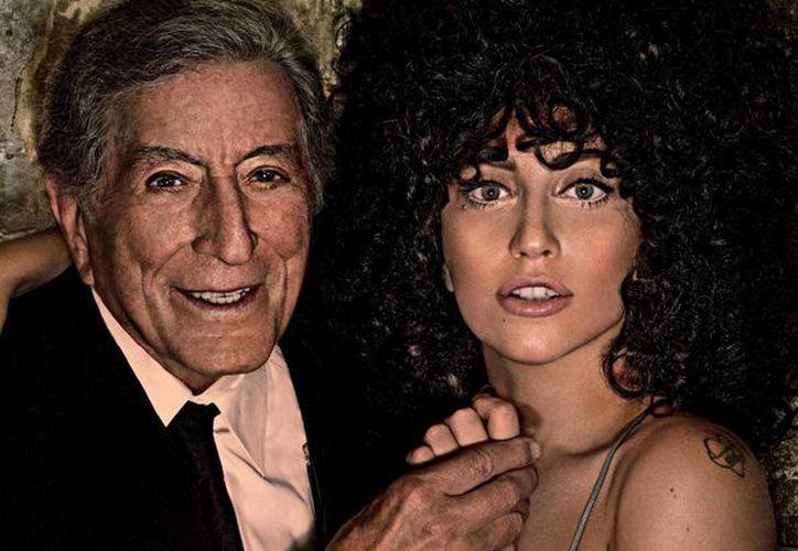 Lady Gaga y Tony Bennet unen talentos en el disco 'Cheek to cheek'. (josepvinaixa.com)