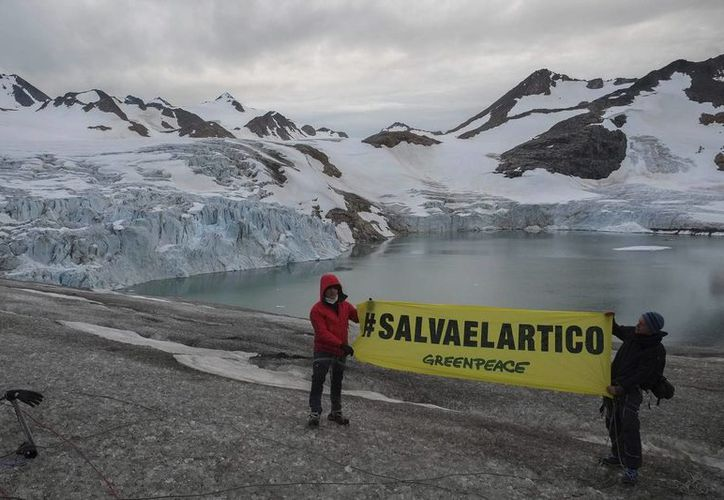 El ibérico visitó el extremo sur del círculo polar ártico. (EFE)