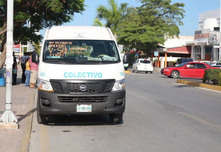 Extienden derrotero de transporte público. (Foto: SIPSE)