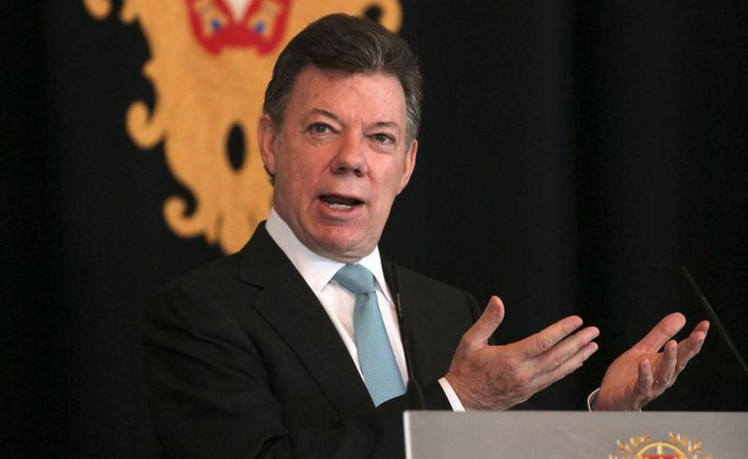 El presidente Santos trabaja en poner fin a un conflicto nacional interno de 50 años de existencia. (EFE)