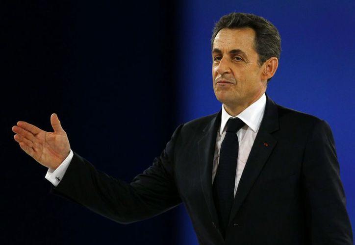 Sarkozy se encuentra participando en el Foro Económico en Davos. (Archivo/Agencias)