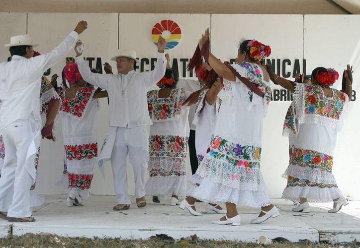 El evento promueve el rescate de las raíces de los antepasados. (Redacción/SIPSE)