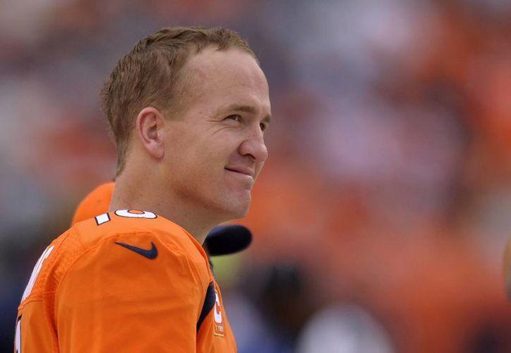 Peyton Manning fue la gran estrella del partido. (Agencias)
