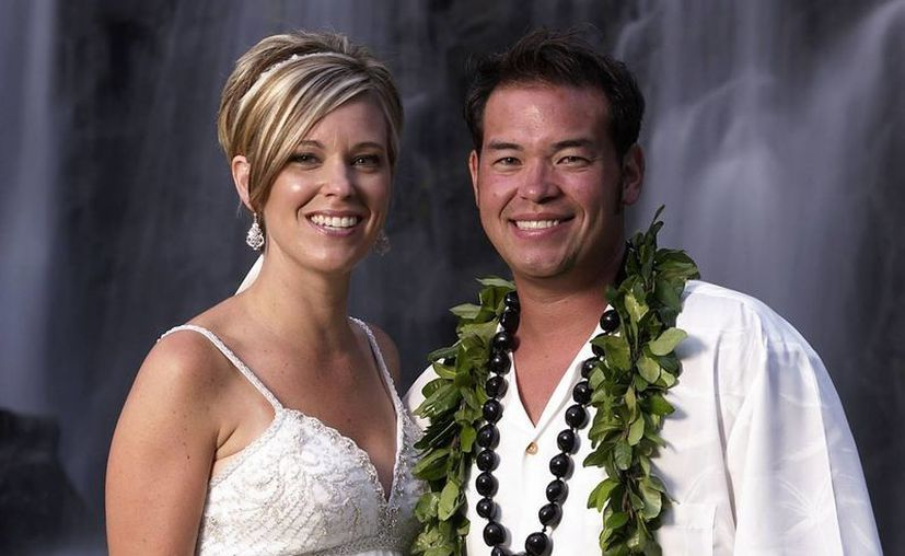"""La pareja protagonizó el programa de TLC """"Jon & Kate plus 8"""", sobre su vida como padres de mellizos y sextillizos, antes de que se separarse en 2009. (Agencias)"""