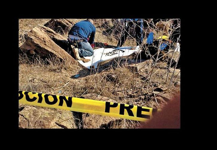 Los restos encontrados en un predio de la colonia Terrazas de la Presa el pasado 1 de noviembre no tienen relación con Santiago Meza López. (Milenio)