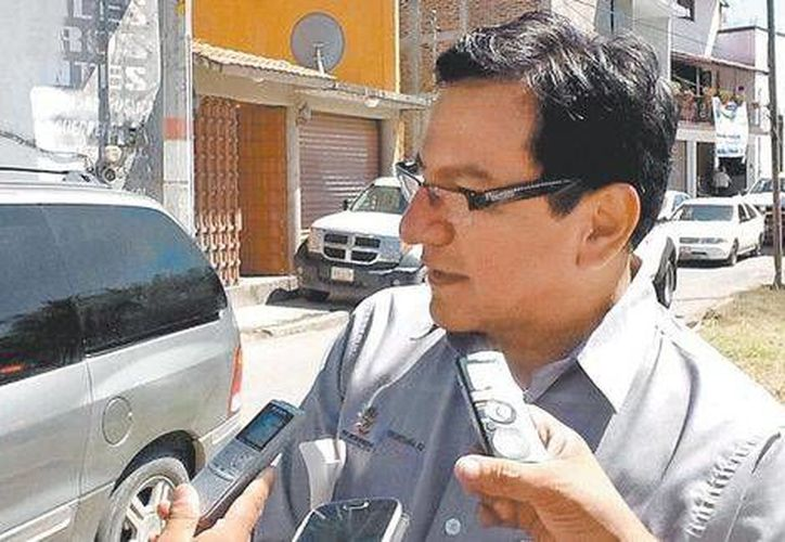 Lázaro Mazón, secretario de Salud de Guerrero, reconoce que a veces los policías no se dan abasto. (Milenio/Foto especial)