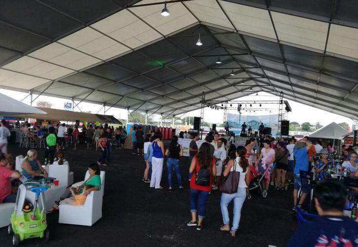 En esta ocasión se realizó en el Autódromo de Cancún. (Stephani Blanco/SIPSE)