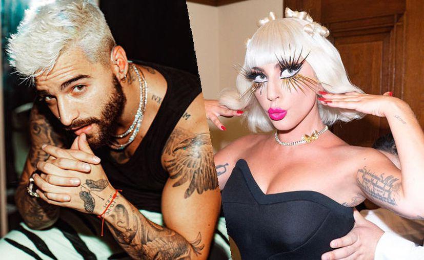 Foto: Instagram de Maluma y Lady Gaga.