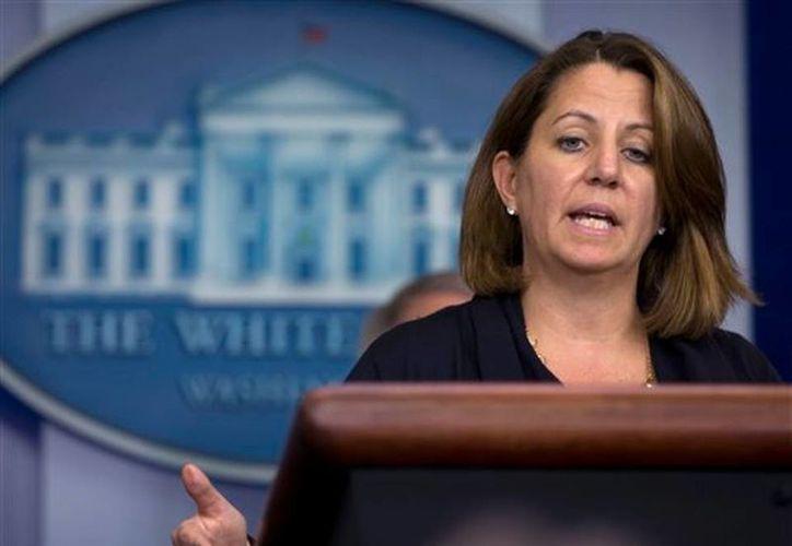 Lisa Monaco, asesora del presidente Obama para seguridad interna y antiterrorismo, declinó hacer comentarios sobre la caída de la red de internet en Corea del Norte en semanas pasadas. (Archivo/AP)