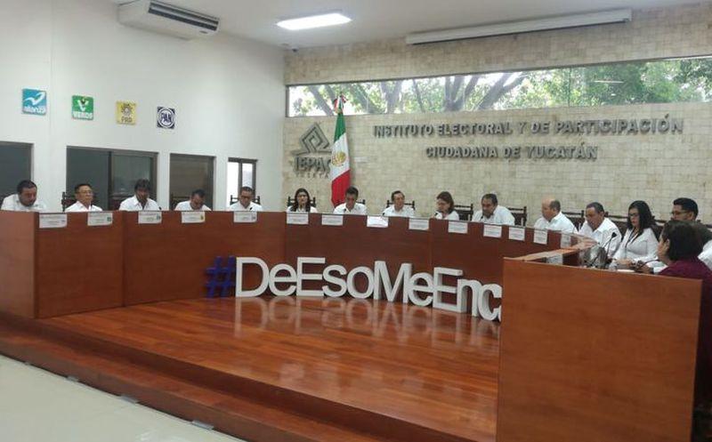 El representante del PRI, Gaspar Ortiz declaró que los candidatos priistas están a la altura que los ciudadanos demandan. (Israel Cárdenas/Milenio Novedades)