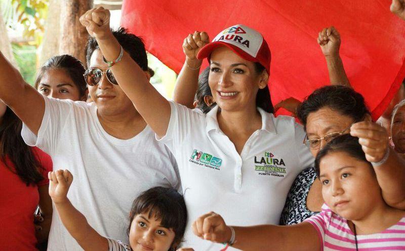 Laura Fernández buscará alianzas con la iniciativa privada para generar más empleos. (SIPSE)