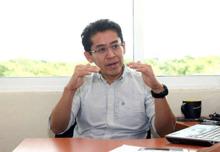 José Moo Estrella, académico de la Facultad de Psicología de la Uady.