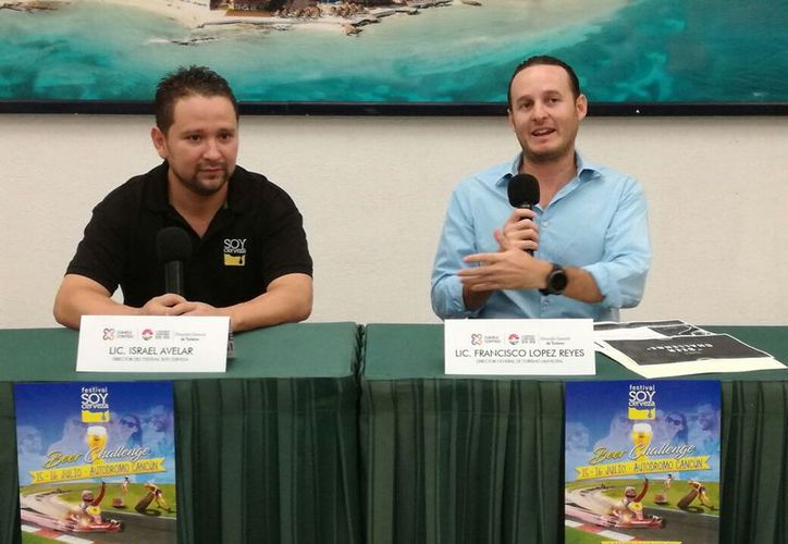 En la presentación del evento se destacó la participación de cerveceras locales. (Israel Leal/SIPSE)