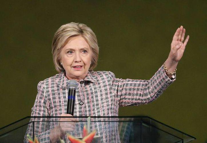 Hillary Clinton venció a su rival Bernie Sanders en la asamblea partidista en las Islas Vírgenes. (AP/archivo)