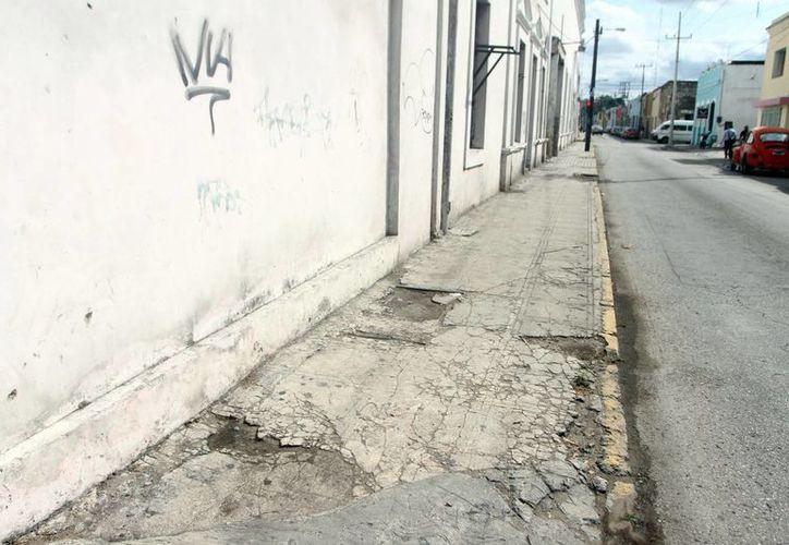 Las autoridades buscan la manera de reducir el impacto de las obras en el Centro Histórico durante las obras de mejoras en la zona. (Milenio Novedades)