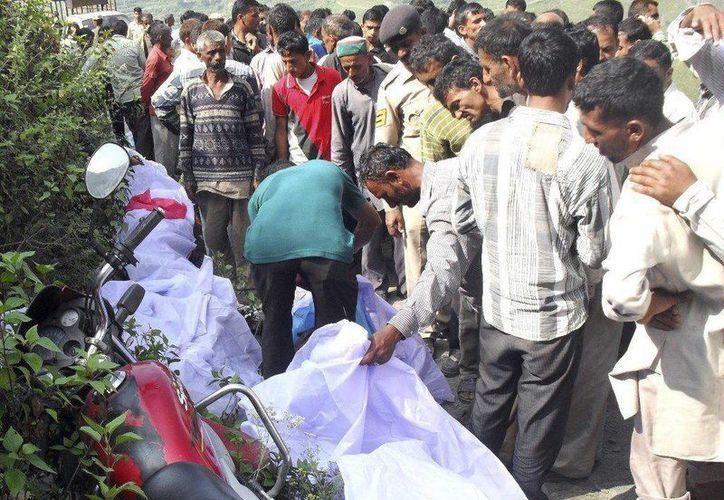 Unas 125 mil personas mueren al año en la India en accidentes de tráfico. (Archivo/EFE)