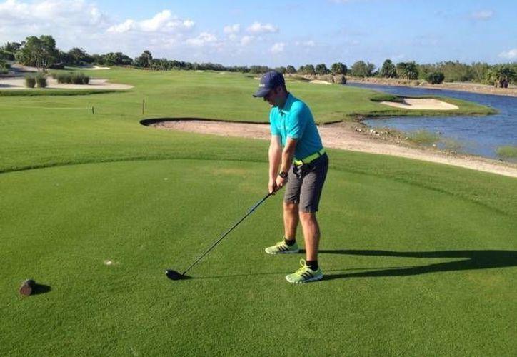 Los mejores jugadores de golf del estado estarán tomando parte de la final del torneo. (Raúl Caballero/SIPSE)